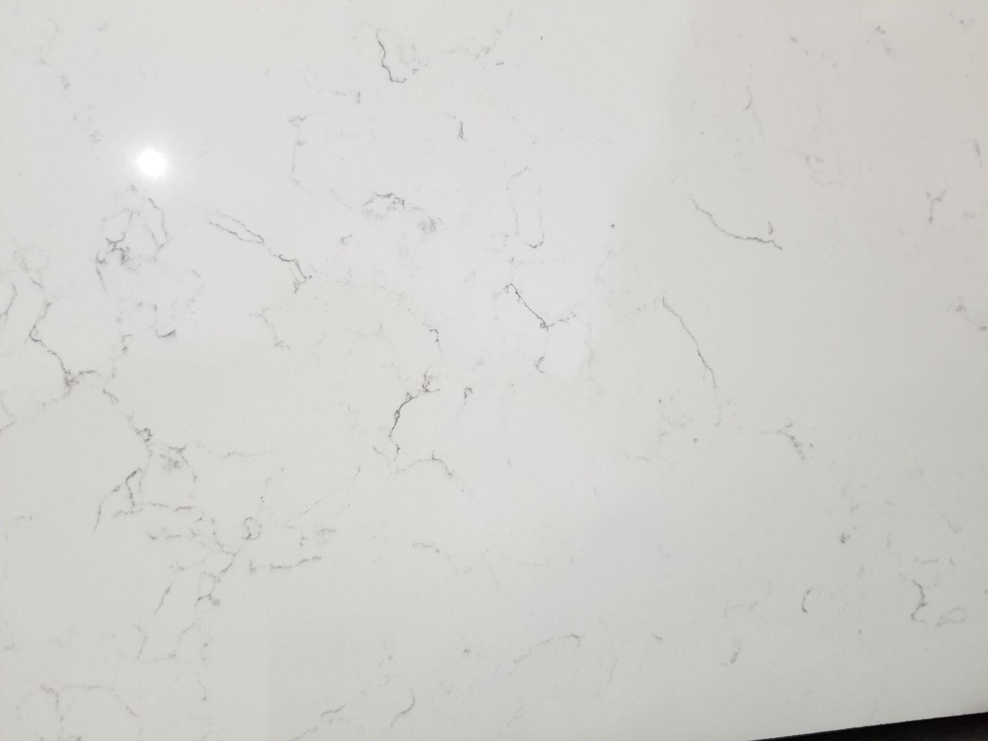 Bright White Concrete Countertops